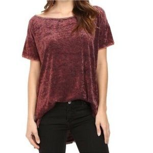 Free People Velvet Tunic